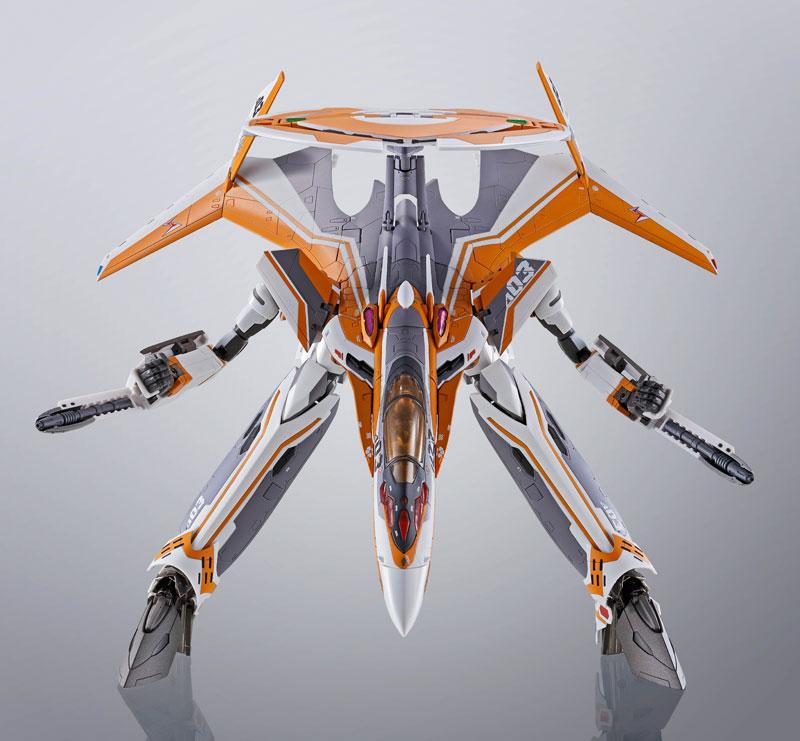DX超合金『VF-31Eジークフリード(チャック・マスタング機)』マクロスΔ 可変可動フィギュア-009