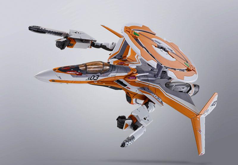 DX超合金『VF-31Eジークフリード(チャック・マスタング機)』マクロスΔ 可変可動フィギュア-010