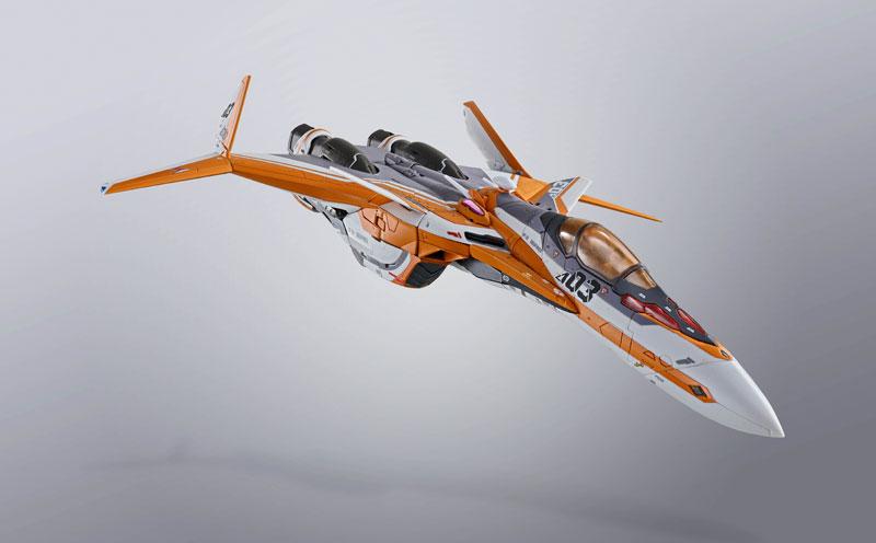 DX超合金『VF-31Eジークフリード(チャック・マスタング機)』マクロスΔ 可変可動フィギュア-012