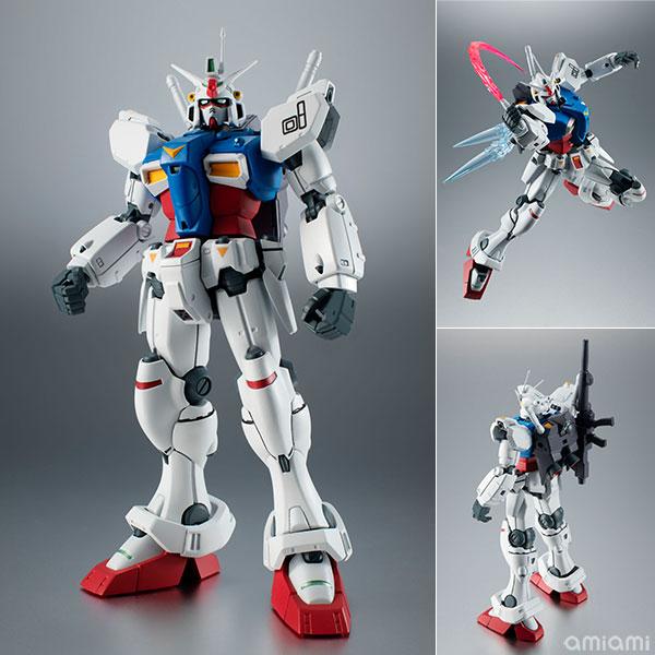 ROBOT魂〈SIDE MS〉『RX-78GP01 ガンダム試作1号機 ver. A.N.I.M.E.』可動フィギュア