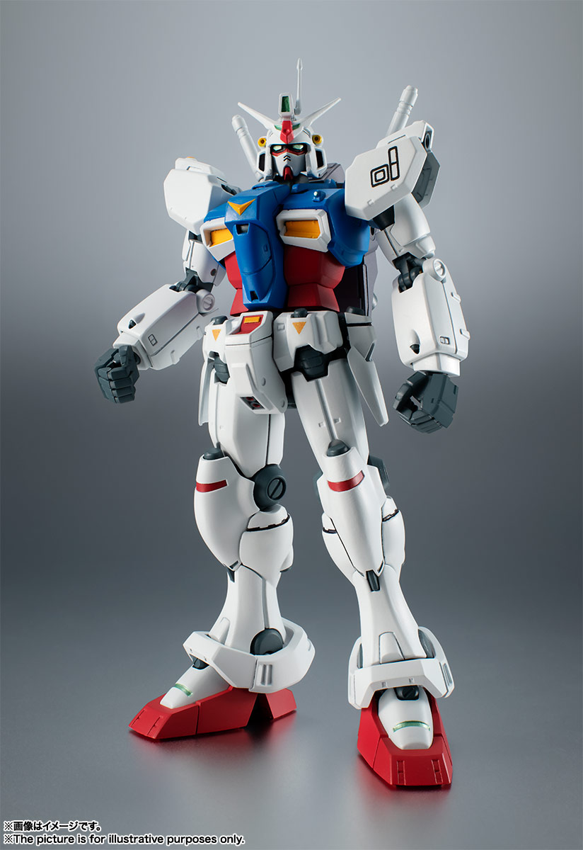ROBOT魂〈SIDE MS〉『RX-78GP01 ガンダム試作1号機 ver. A.N.I.M.E.』可動フィギュア-001
