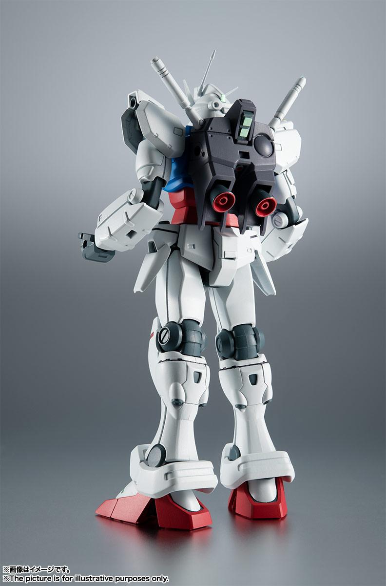 ROBOT魂〈SIDE MS〉『RX-78GP01 ガンダム試作1号機 ver. A.N.I.M.E.』可動フィギュア-002