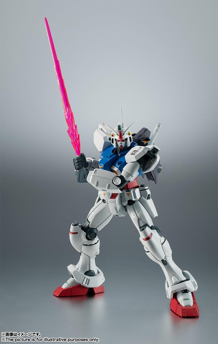 ROBOT魂〈SIDE MS〉『RX-78GP01 ガンダム試作1号機 ver. A.N.I.M.E.』可動フィギュア-003