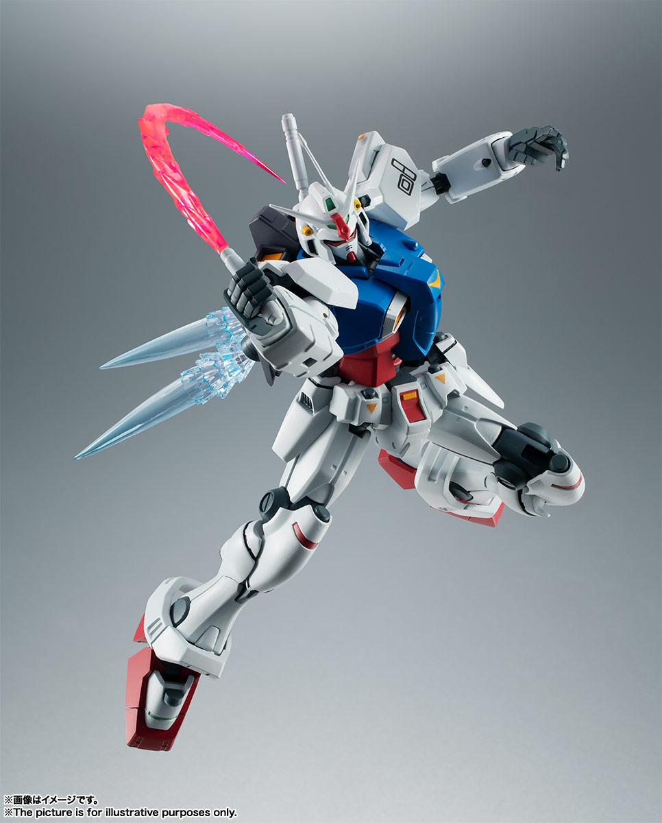 ROBOT魂〈SIDE MS〉『RX-78GP01 ガンダム試作1号機 ver. A.N.I.M.E.』可動フィギュア-005