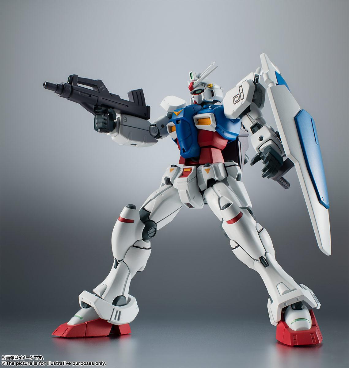ROBOT魂〈SIDE MS〉『RX-78GP01 ガンダム試作1号機 ver. A.N.I.M.E.』可動フィギュア-007