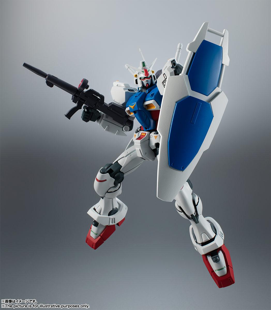 ROBOT魂〈SIDE MS〉『RX-78GP01 ガンダム試作1号機 ver. A.N.I.M.E.』可動フィギュア-009