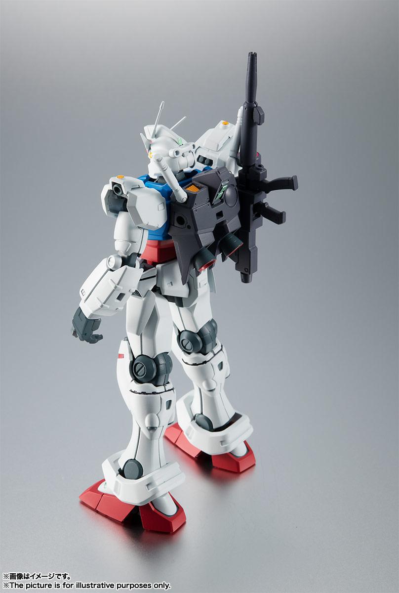 ROBOT魂〈SIDE MS〉『RX-78GP01 ガンダム試作1号機 ver. A.N.I.M.E.』可動フィギュア-010