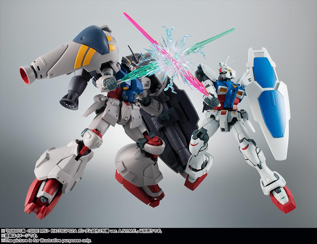 ROBOT魂〈SIDE MS〉『RX-78GP01 ガンダム試作1号機 ver. A.N.I.M.E.』可動フィギュア-012