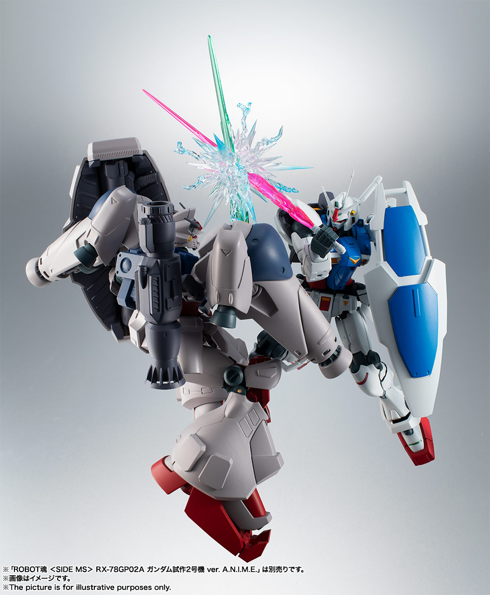 ROBOT魂〈SIDE MS〉『RX-78GP01 ガンダム試作1号機 ver. A.N.I.M.E.』可動フィギュア-013