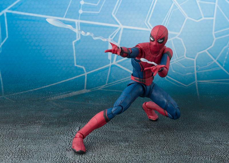 S.H.Figuarts『スパイダーマン(スパイダーマン:ファー・フロム・ホーム)』アクションフィギュア-010