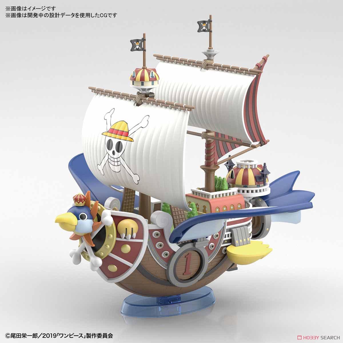 偉大なる船コレクション『サウザンド・サニー号 フライングモデル』ワンピース プラモデル-001