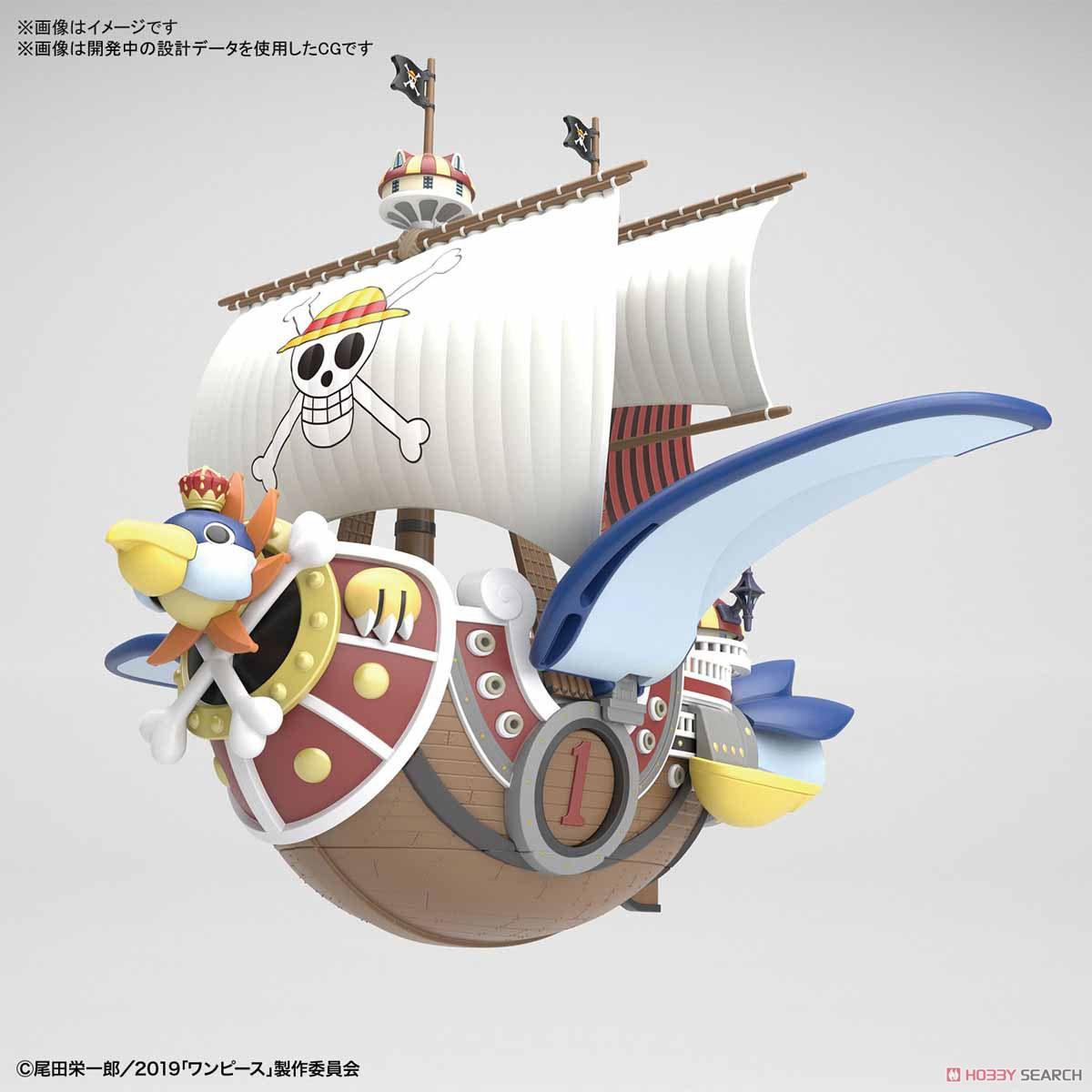 偉大なる船コレクション『サウザンド・サニー号 フライングモデル』ワンピース プラモデル-002