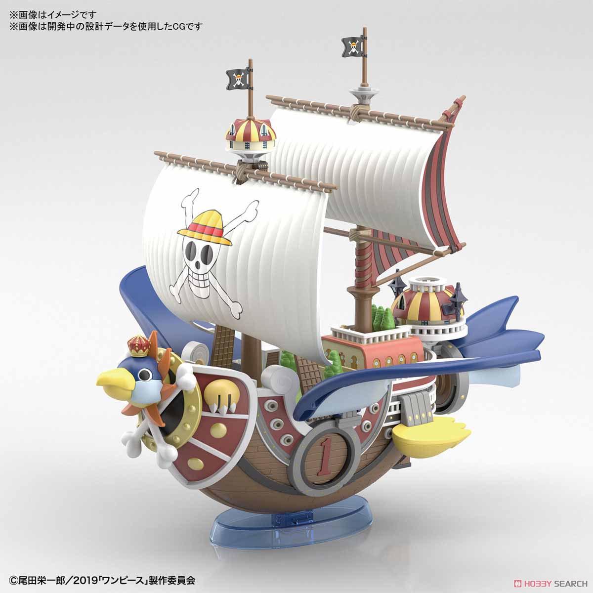 偉大なる船コレクション『サウザンド・サニー号 フライングモデル』ワンピース プラモデル-004
