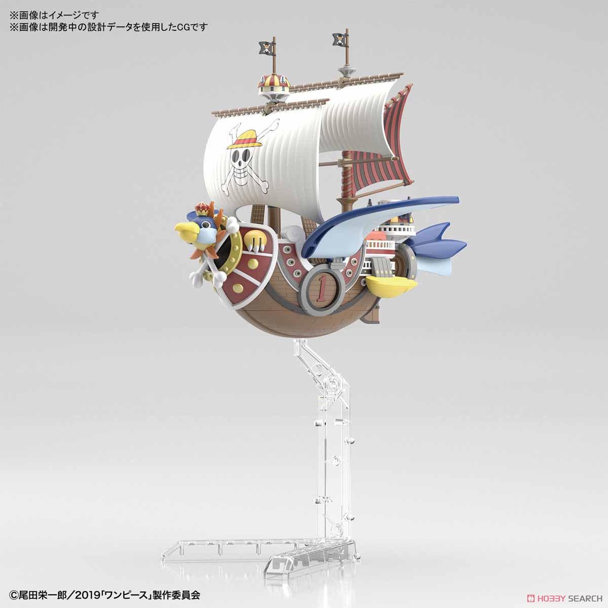 偉大なる船コレクション『サウザンド・サニー号 フライングモデル』ワンピース プラモデル-005