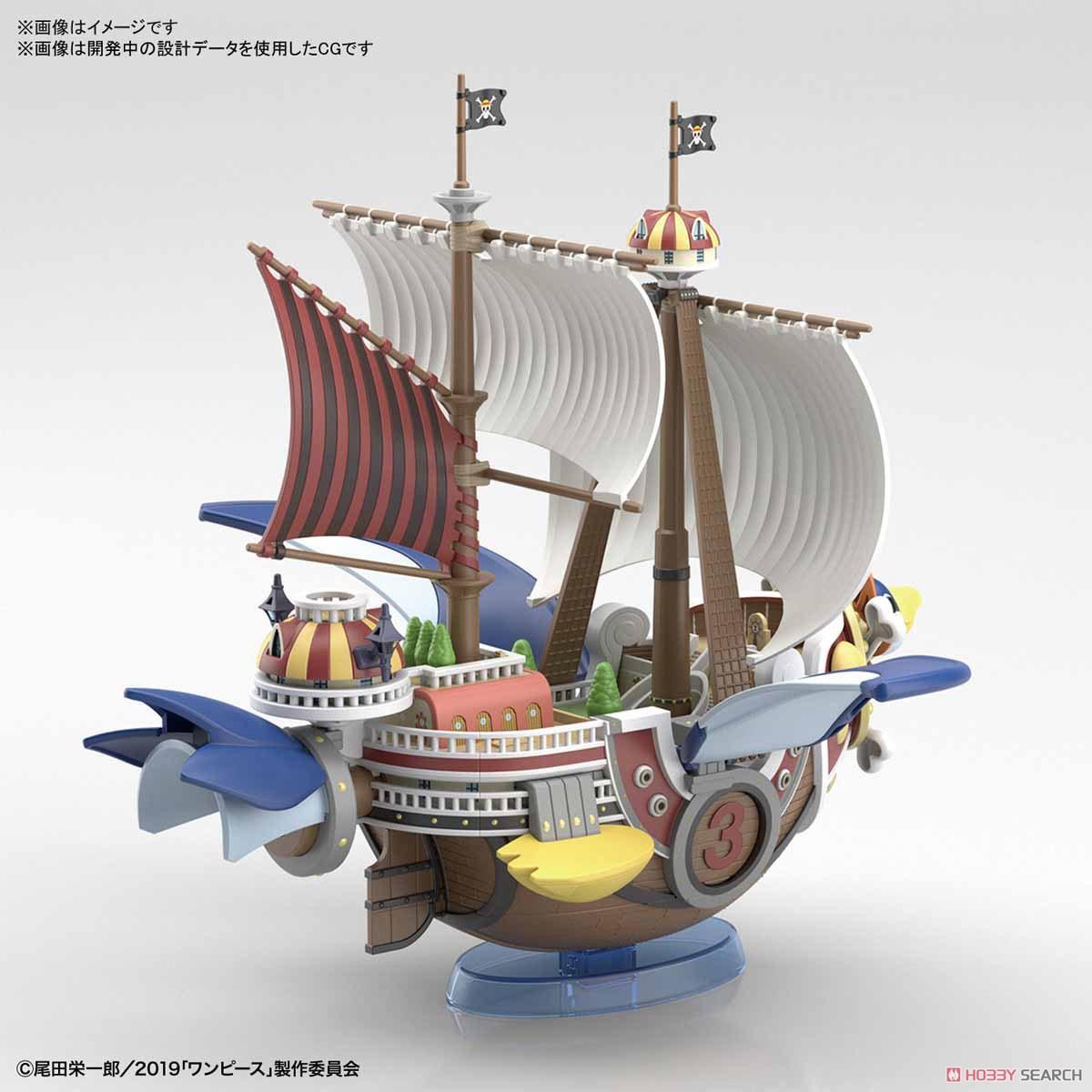 偉大なる船コレクション『サウザンド・サニー号 フライングモデル』ワンピース プラモデル-007