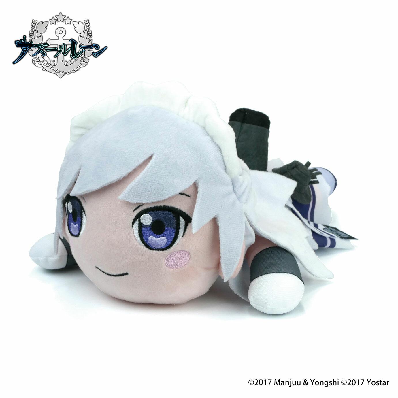 アズールレーン 寝ころび人形『ベルファスト』グッズ-001