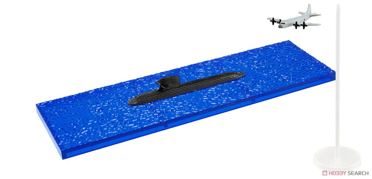 【食玩】1/1250『現用艦船キットコレクション Vol.6 海上自衛隊 呉基地』食玩プラモ 10個入りBOX-005