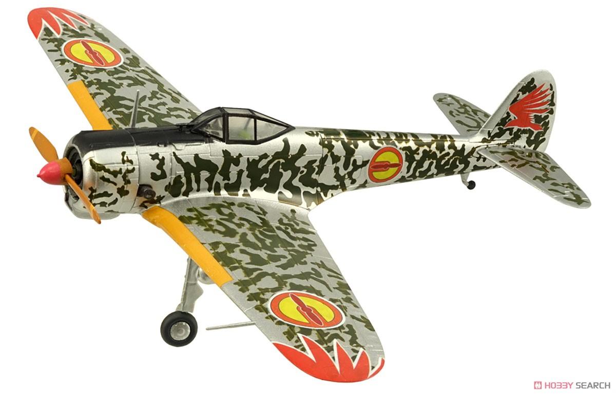 【食玩】荒野のコトブキ飛行隊『ミニアクション隼一型』食玩プラモ 6個入りBOX-002