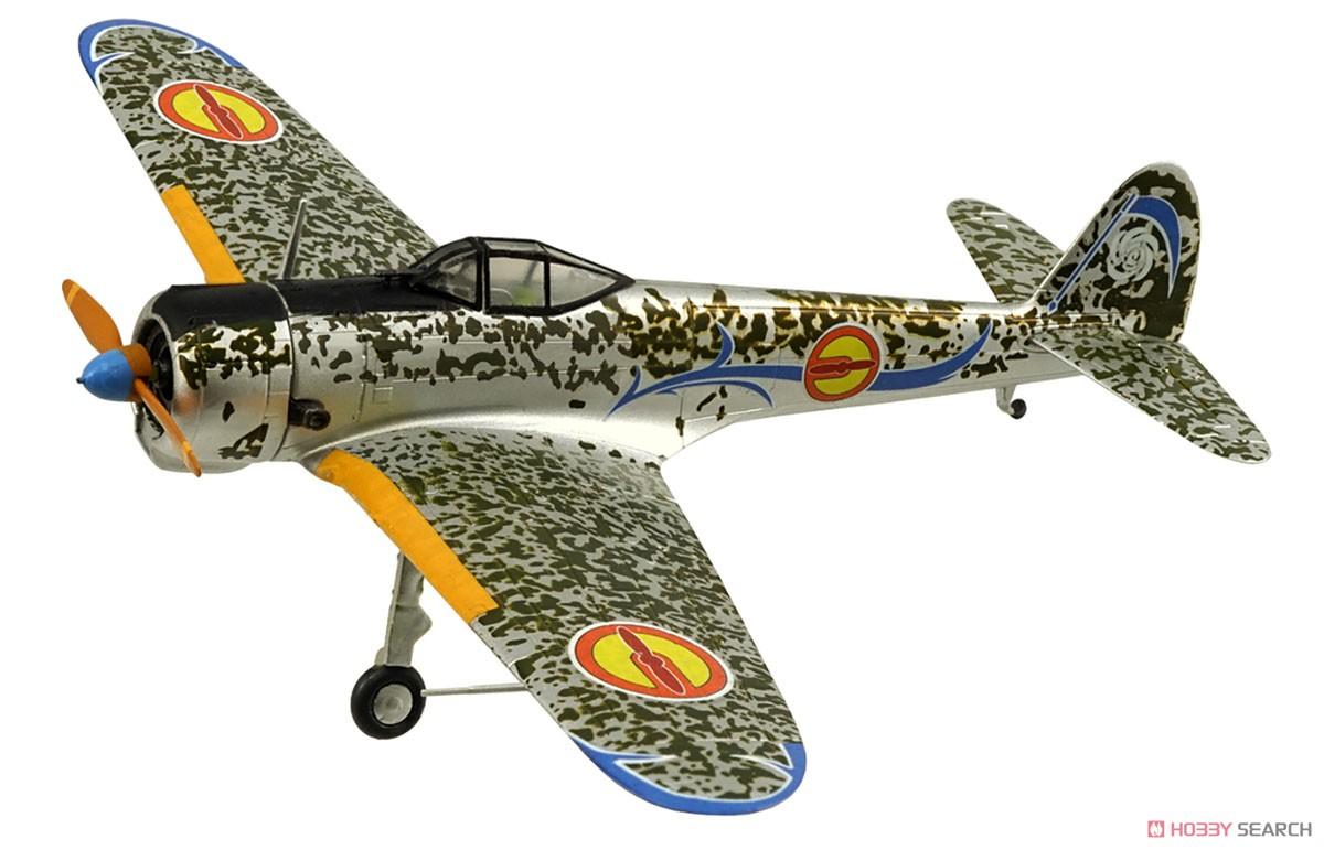 【食玩】荒野のコトブキ飛行隊『ミニアクション隼一型』食玩プラモ 6個入りBOX-003