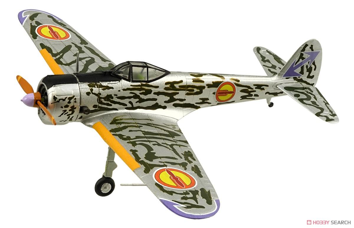 【食玩】荒野のコトブキ飛行隊『ミニアクション隼一型』食玩プラモ 6個入りBOX-004