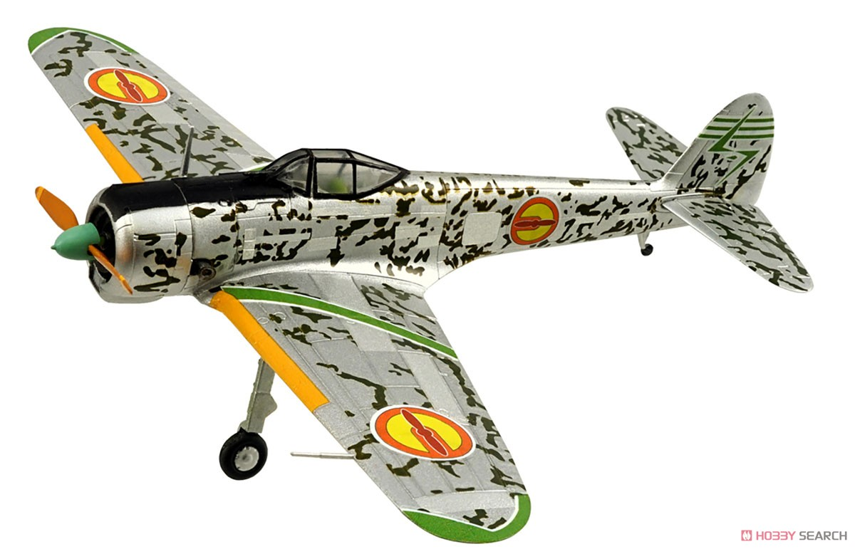 【食玩】荒野のコトブキ飛行隊『ミニアクション隼一型』食玩プラモ 6個入りBOX-005