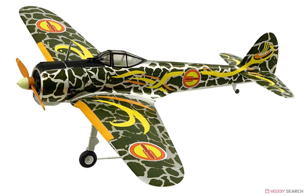 【食玩】荒野のコトブキ飛行隊『ミニアクション隼一型』食玩プラモ 6個入りBOX-006