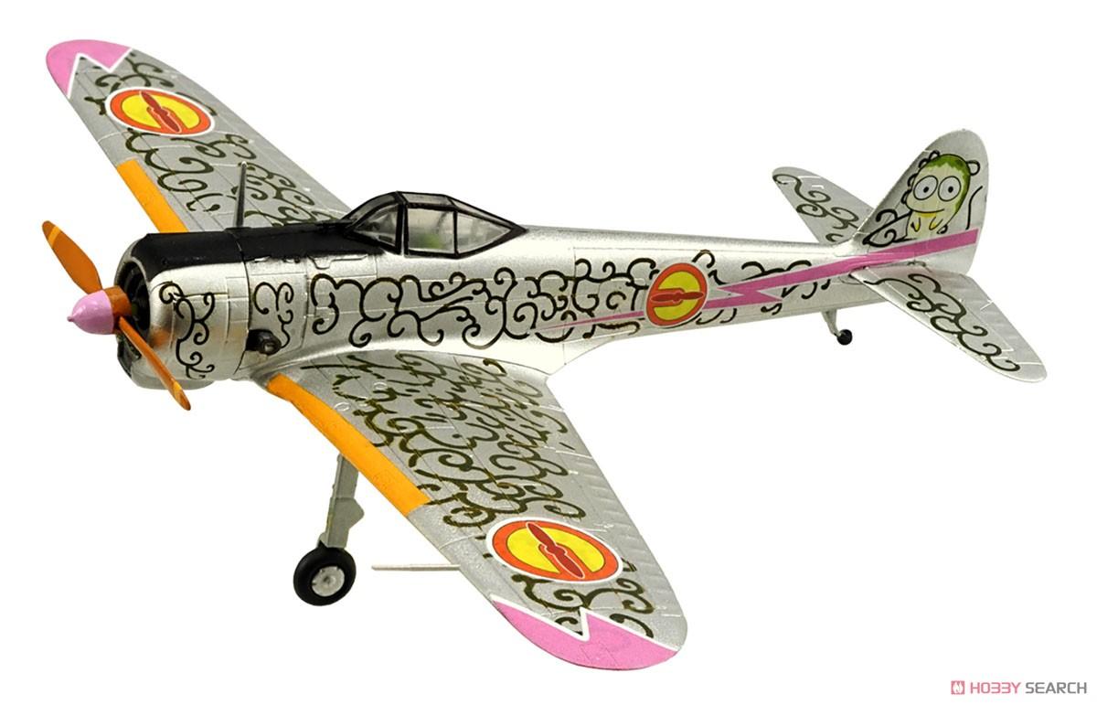 【食玩】荒野のコトブキ飛行隊『ミニアクション隼一型』食玩プラモ 6個入りBOX-007