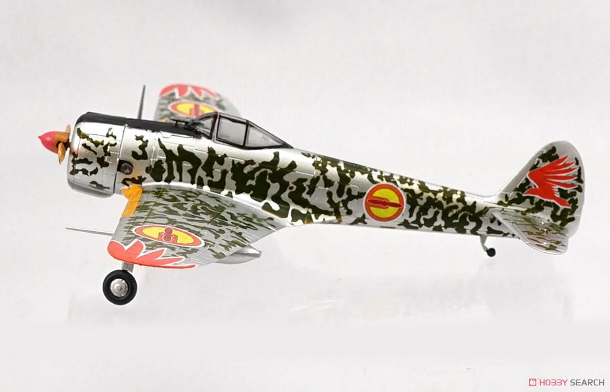 【食玩】荒野のコトブキ飛行隊『ミニアクション隼一型』食玩プラモ 6個入りBOX-008