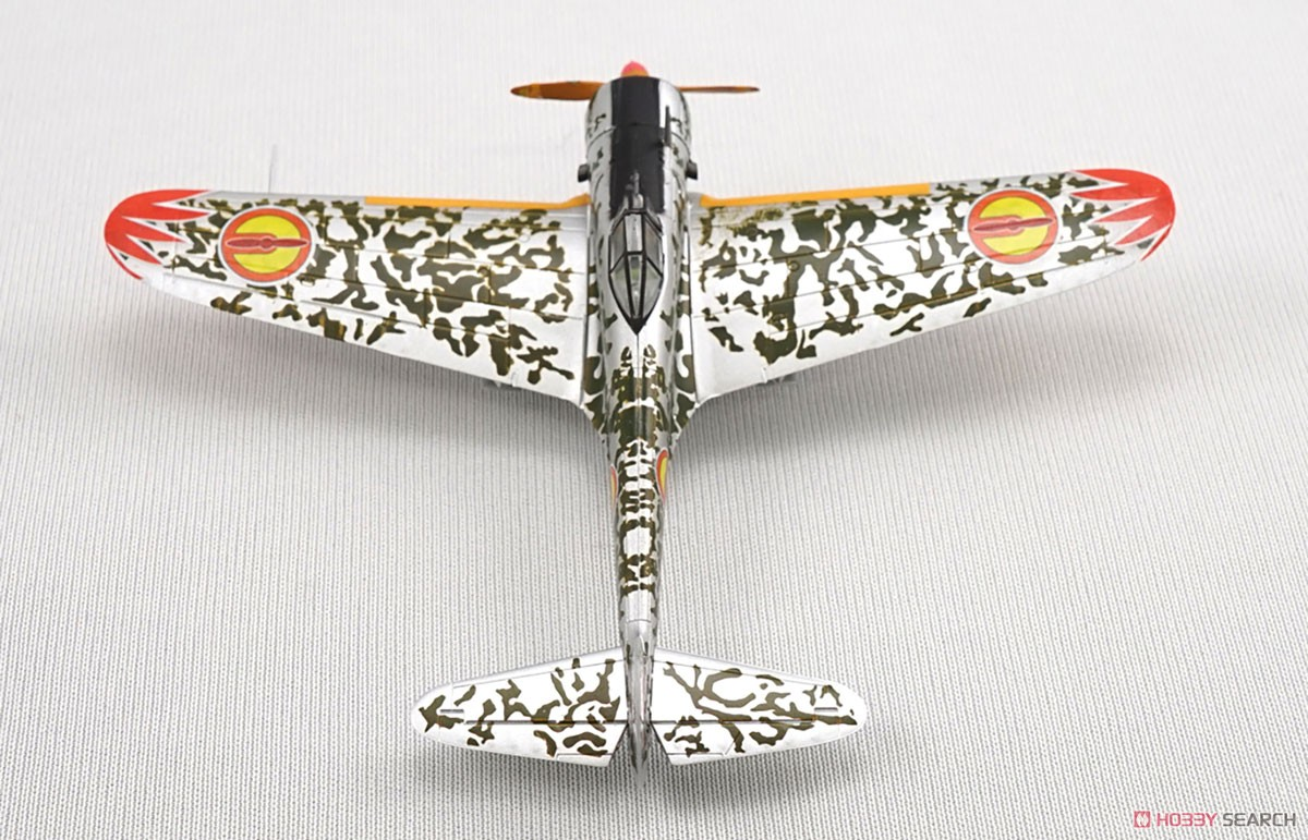 【食玩】荒野のコトブキ飛行隊『ミニアクション隼一型』食玩プラモ 6個入りBOX-009