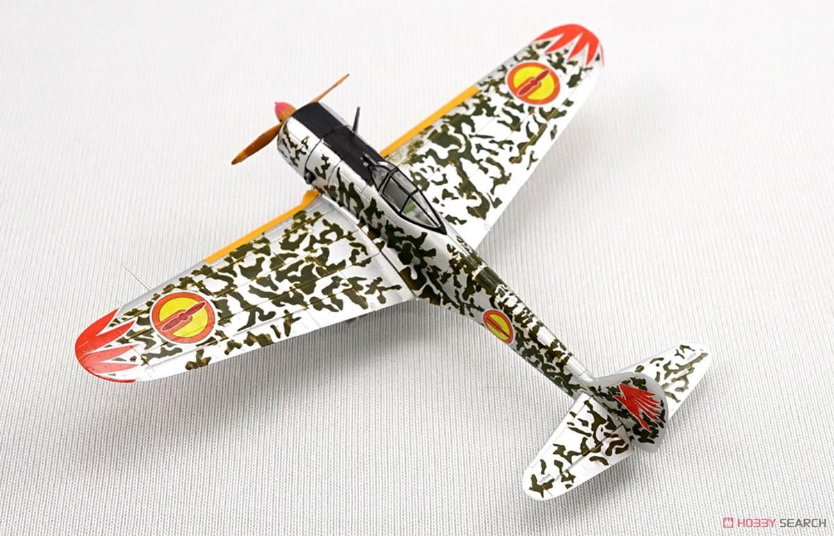 【食玩】荒野のコトブキ飛行隊『ミニアクション隼一型』食玩プラモ 6個入りBOX-010