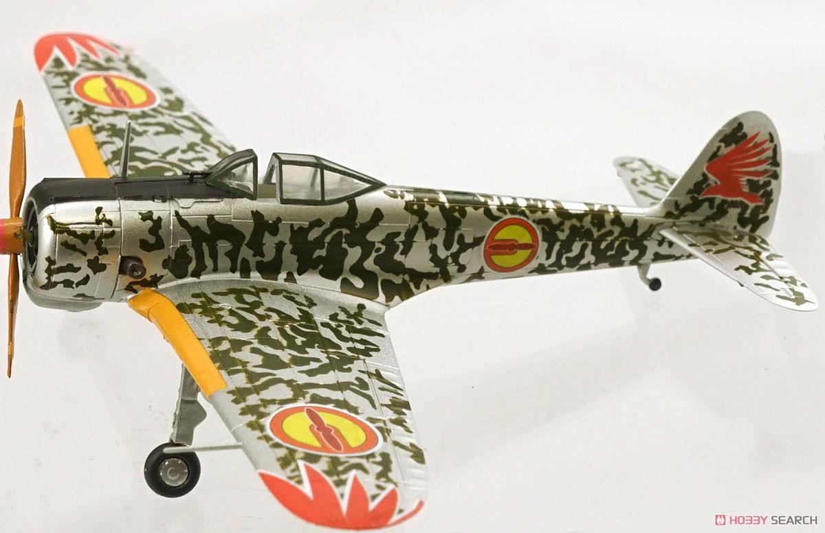 【食玩】荒野のコトブキ飛行隊『ミニアクション隼一型』食玩プラモ 6個入りBOX-012