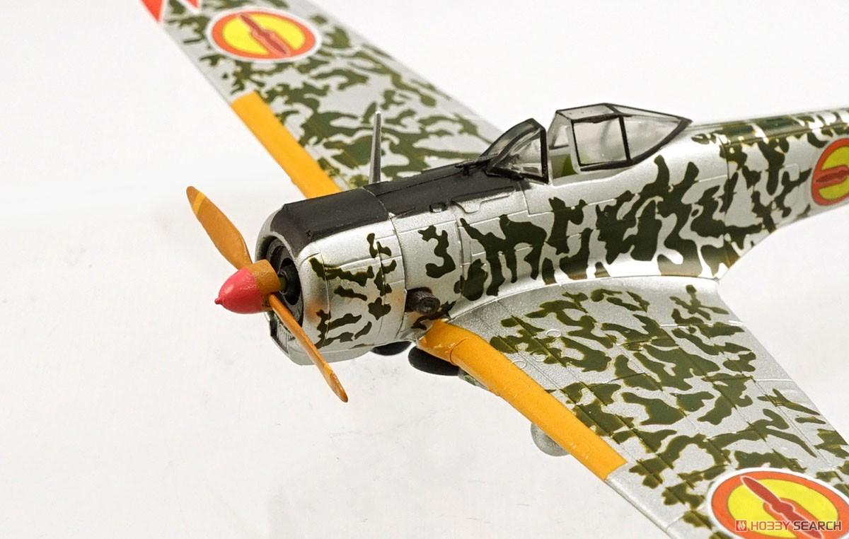 【食玩】荒野のコトブキ飛行隊『ミニアクション隼一型』食玩プラモ 6個入りBOX-014