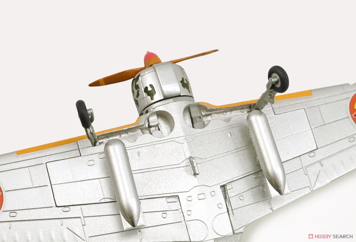 【食玩】荒野のコトブキ飛行隊『ミニアクション隼一型』食玩プラモ 6個入りBOX-015