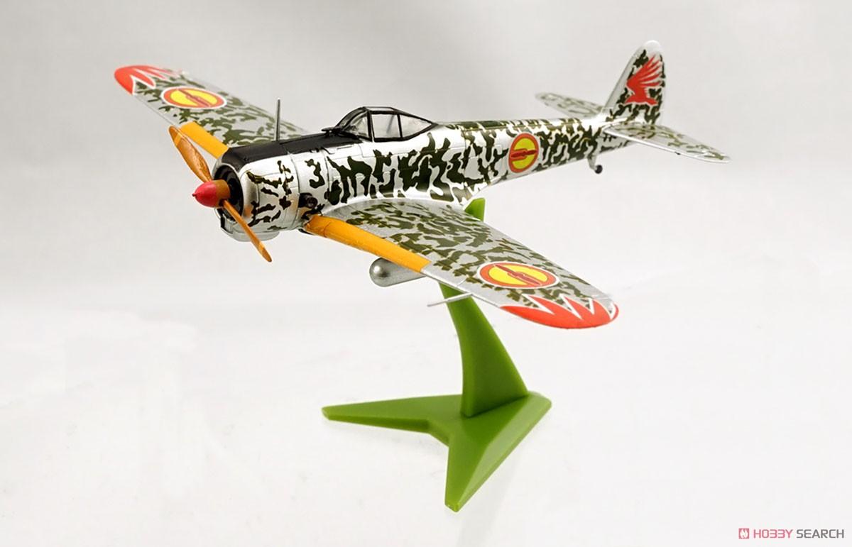 【食玩】荒野のコトブキ飛行隊『ミニアクション隼一型』食玩プラモ 6個入りBOX-016