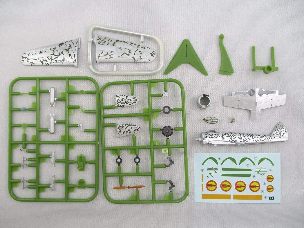 【食玩】荒野のコトブキ飛行隊『ミニアクション隼一型』食玩プラモ 6個入りBOX-017
