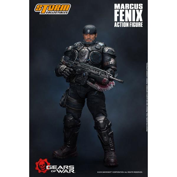 Gears of War(ギアーズ・オブ・ウォー)『マーカス・フェニックス』可動フィギュア