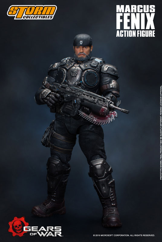 Gears of War(ギアーズ・オブ・ウォー)『マーカス・フェニックス』可動フィギュア-002