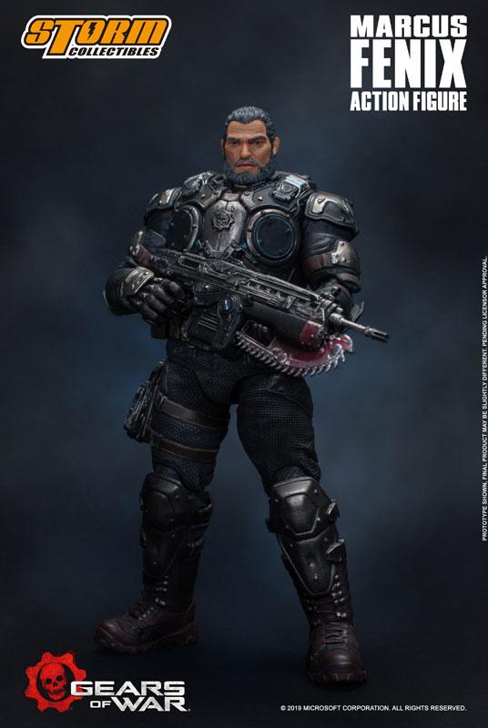 Gears of War(ギアーズ・オブ・ウォー)『マーカス・フェニックス』可動フィギュア-003