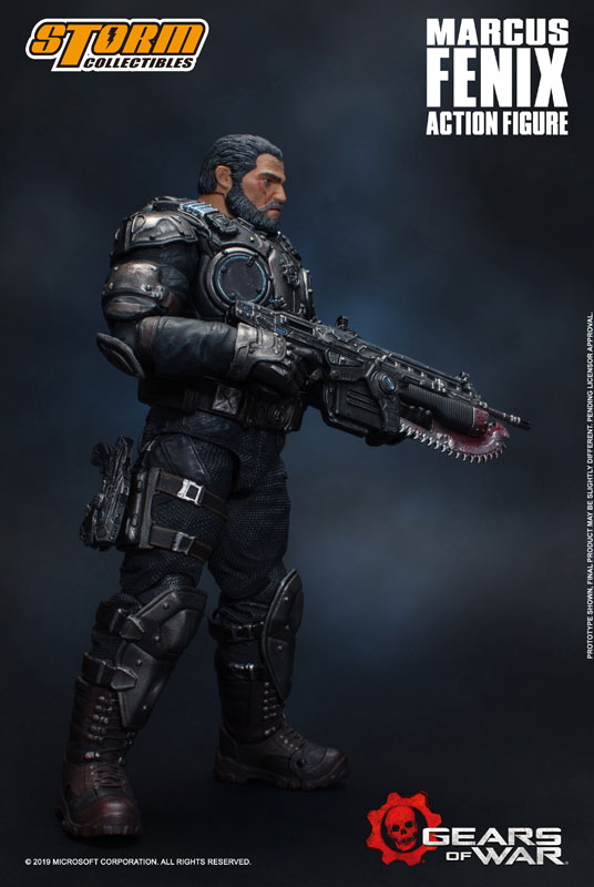 Gears of War(ギアーズ・オブ・ウォー)『マーカス・フェニックス』可動フィギュア-004