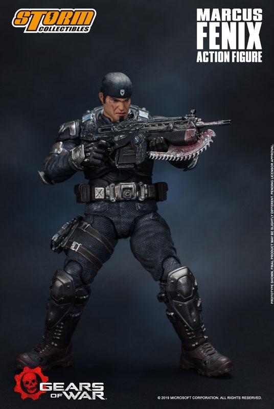 Gears of War(ギアーズ・オブ・ウォー)『マーカス・フェニックス』可動フィギュア-006