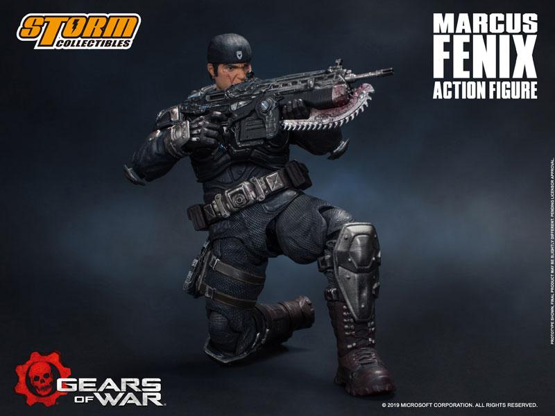Gears of War(ギアーズ・オブ・ウォー)『マーカス・フェニックス』可動フィギュア-007