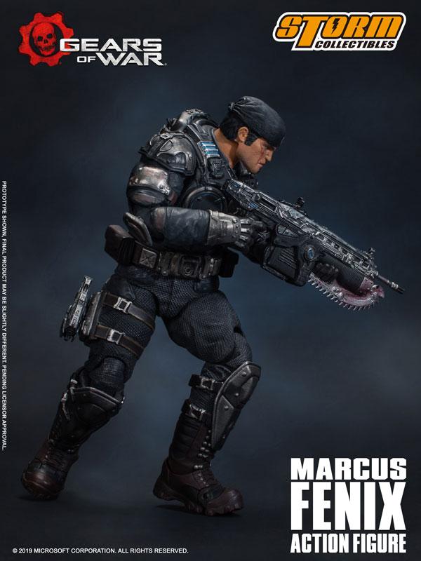 Gears of War(ギアーズ・オブ・ウォー)『マーカス・フェニックス』可動フィギュア-009