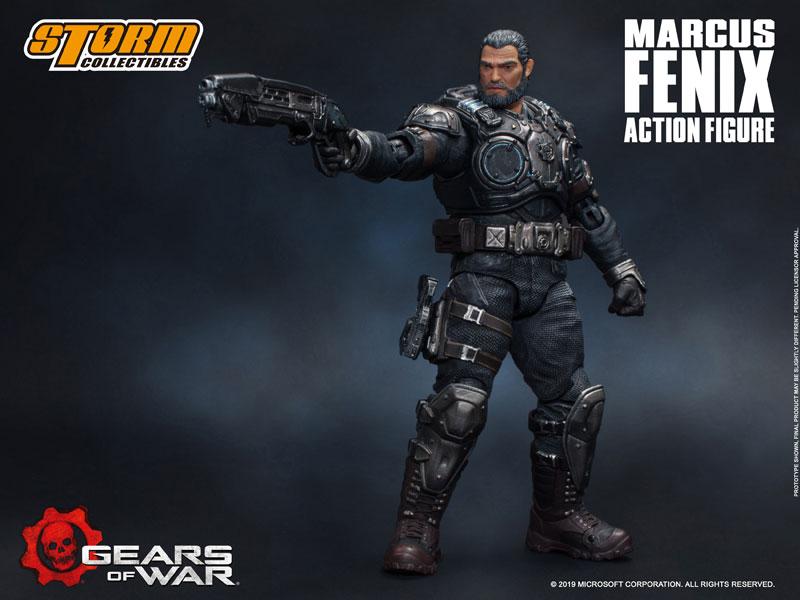 Gears of War(ギアーズ・オブ・ウォー)『マーカス・フェニックス』可動フィギュア-011