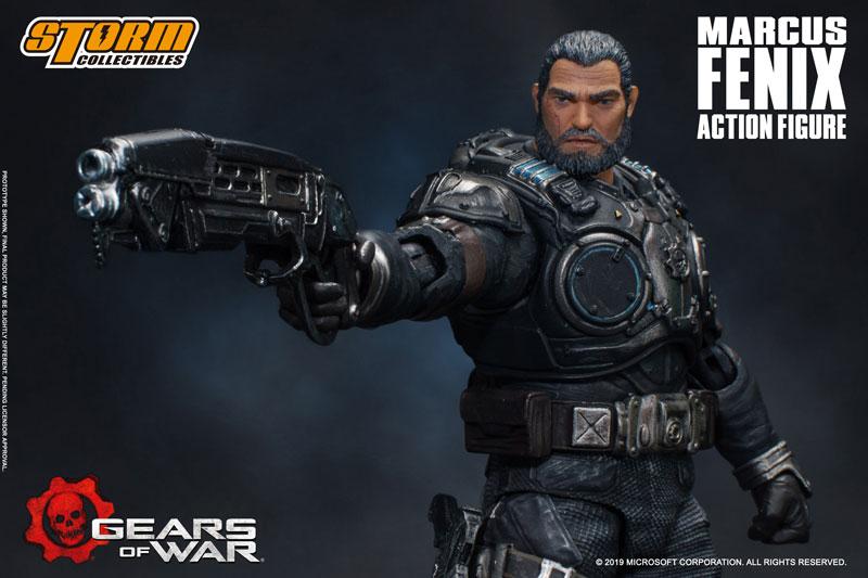 Gears of War(ギアーズ・オブ・ウォー)『マーカス・フェニックス』可動フィギュア-012