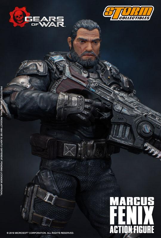 Gears of War(ギアーズ・オブ・ウォー)『マーカス・フェニックス』可動フィギュア-013