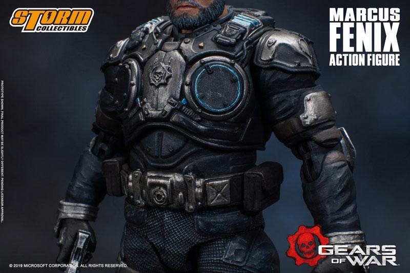 Gears of War(ギアーズ・オブ・ウォー)『マーカス・フェニックス』可動フィギュア-015