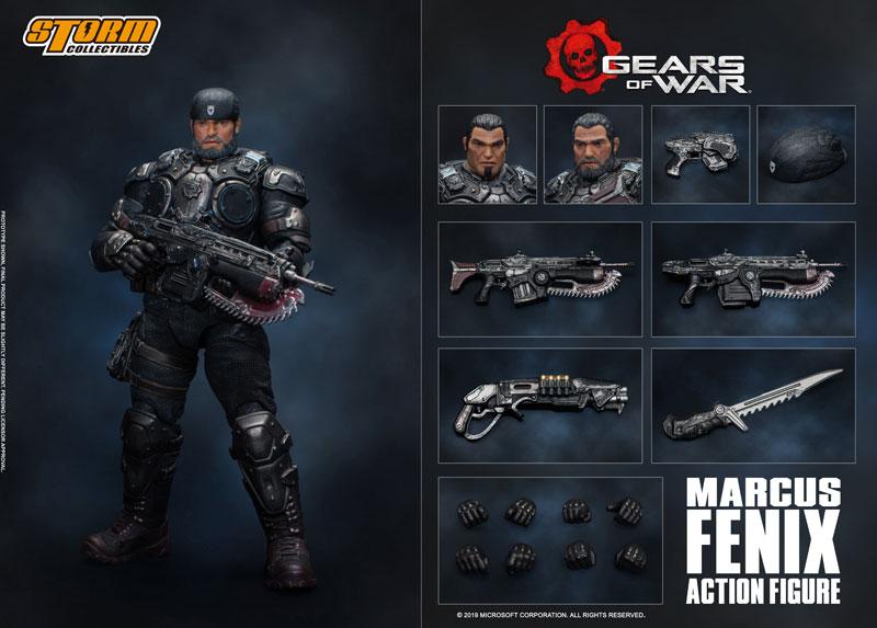 Gears of War(ギアーズ・オブ・ウォー)『マーカス・フェニックス』可動フィギュア-017