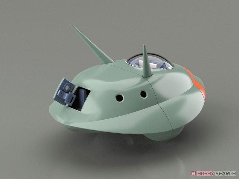 未来少年コナン『フライングマシン I&II』1/32 プラモデル-004