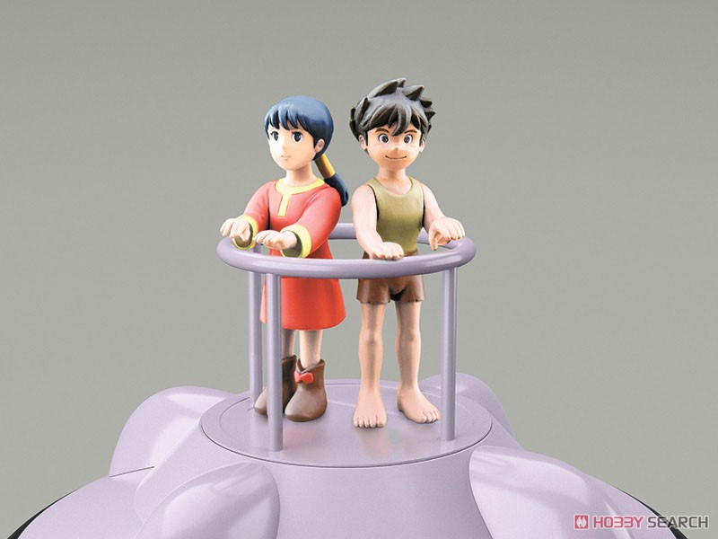 未来少年コナン『フライングマシン I&II』1/32 プラモデル-006
