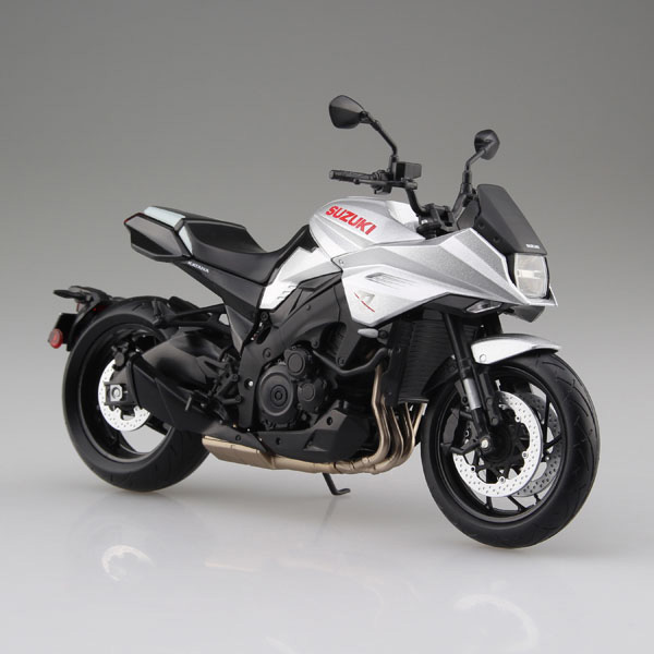 スズキ『SUZUKI GSX-S1000S KATANA メタリックミスティックシルバー』ミニカー